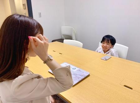 木佐一友里、にしくんインタビュー画像